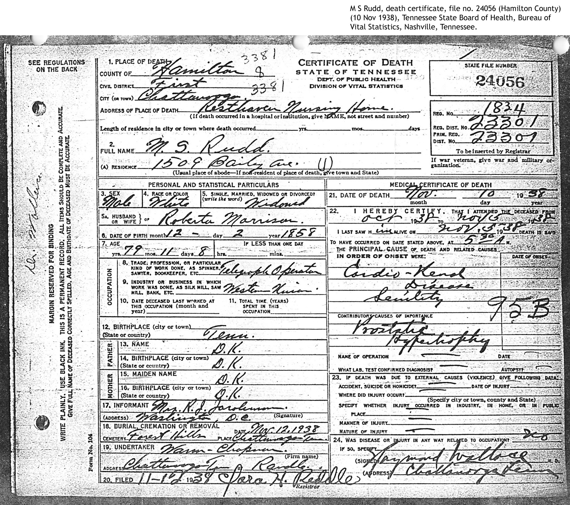 Stoy Family Genealogy - Person Page