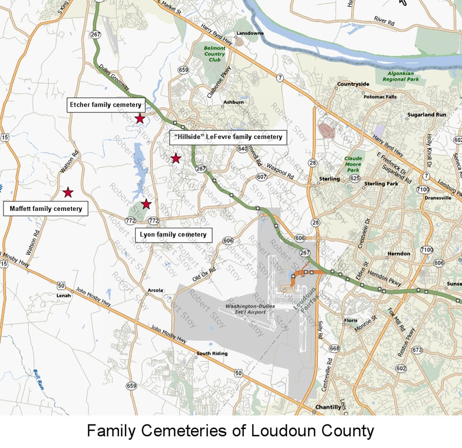 Stoy Family Genealogy  Loudoun County